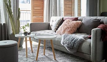 Мягкая мебель в стиле хюгге